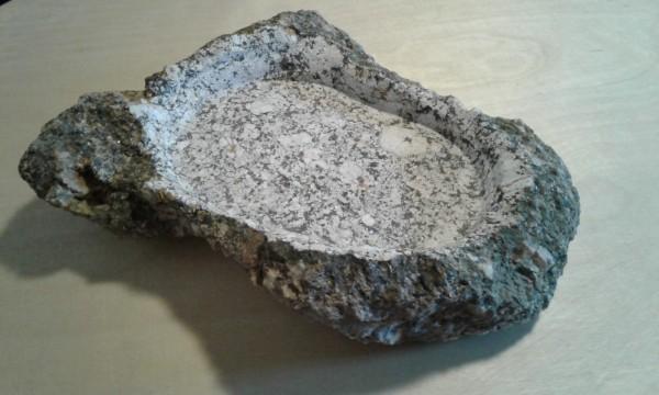 Steinschale Mittel